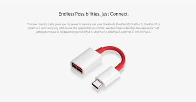 Oneplus Type C Male To USB Female OTG Data Cable Adapter For Oneplus 6T 6 5 Xiaomi Pocophone F1 S9