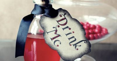 Halloween Party Decoration Vampire Tags- Drink Blood and Have a Fangtastic Halloween