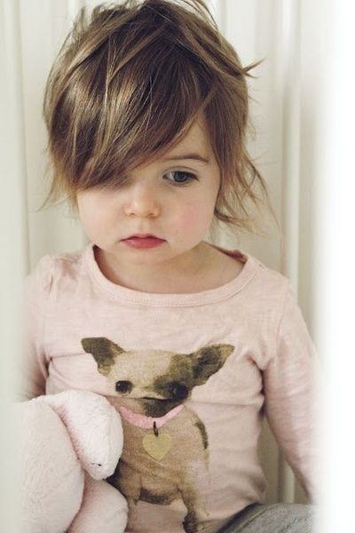 how to cut curly toddler girl hair