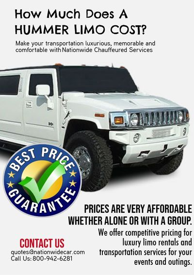 how much does a hummer limo nationwide chauffeured services juxtapost. Black Bedroom Furniture Sets. Home Design Ideas