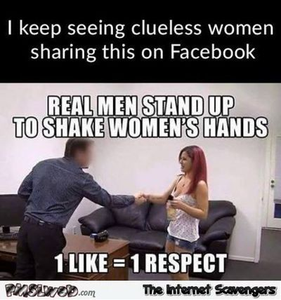 Clueless women keep sharing this humor