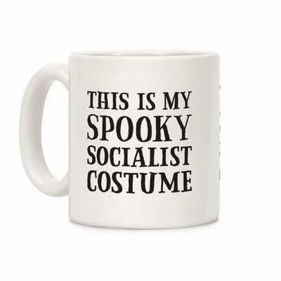 This Is My Spooky Socialist Costume Ceramic Coffee Mug $14.99 �œ� Handcrafted in USA! �œ� Support American Artisans