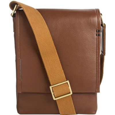 Seattle Unisex Leather Crossbody Messenger $133.00