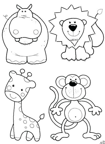 - Zoo Animals Coloring Pages Are One Of The Best Online Printa... / Printable Zoo  Animals Coloring Pages For Kids And Adults - Juxtapost