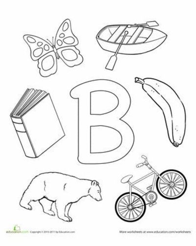 letter sounds coloring pages - photo#21