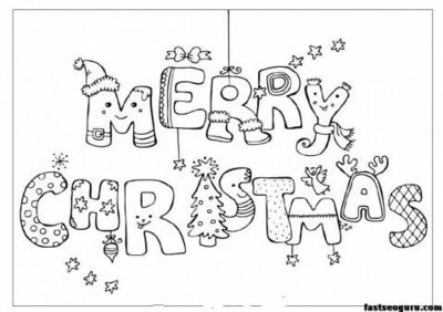 Merry Christmas Print Out Coloring Pages ColoringpageforchristmasSleigh