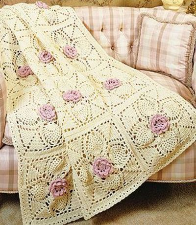 Crochet Heart Afghan Pattern Free : red heart free afghan patterns FREE GRANNY SQUARE ...