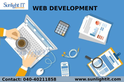 Web Development Company In Hyderabad.Sunlight IT is leading web development company located in Hyderabad. We develop website layout according to your business needs. Sunlight IT comes with high quality and cost effective solutions for web development serv...
