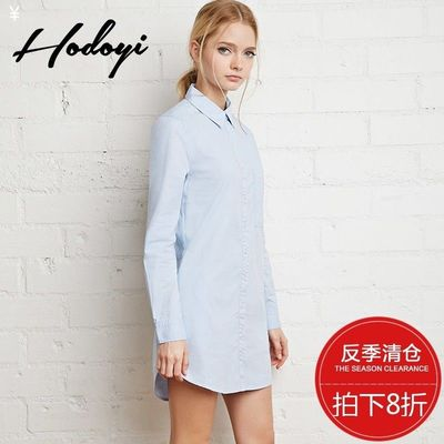 Oversized Vogue Simple Attractive High Neck One Color Summer Casual 9/10 Sleeves Blouse Top - Bonny YZOZO Boutique Store