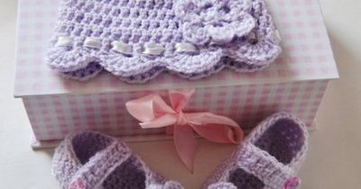 Baby Bootee and Baby hat set-Free Crochet Patterns