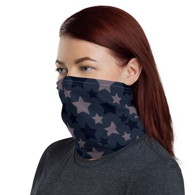 Neck Gaiter Face Mask, Patriotic Americana Neck Gaiter All-Over Print Unisex Face Cover, Face Mask For Men and Women $17.95