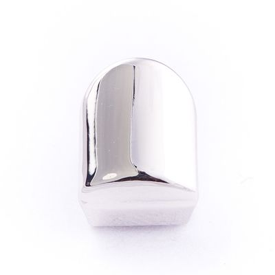 Silver Plated Single Tooth Cap High Polish Grillz £14.95