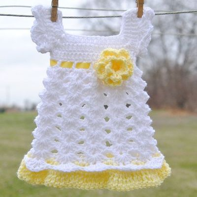 Free Crochet Baby Dress Patterns Baby Girl Newborn Outfit
