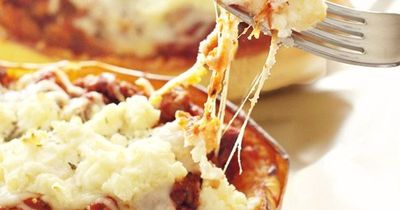 I can't even begin to tell you how much I love this spaghetti squash lasagna.