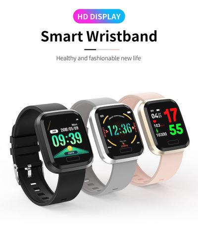 Bakeey T10 Color Display Detachable Strap IP67 Sports Mode 24h Blood Pressure O2 Stopwatch Smart Watch