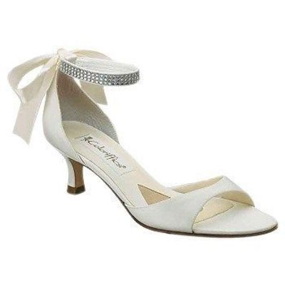 kind of like a pair i have in black! colorifics Carmen ivory matte satin