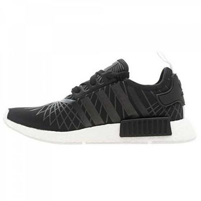 Womens Adidas Nmd Runner Black Outlet JWQ804 yeezyboost350.org