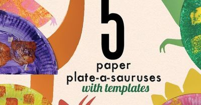 Paper Plate Dinosaur Crafts For Kids With Free Templates Preschool