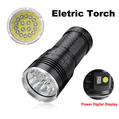 18x XML T6 200000LM Powerful LED Flashlight Supwildfire Hunting Tactical Flashligt 18650 Torch