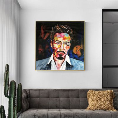 Robert Art paintings on canvas francoise nielly palette knife Portrait art original wall pictures large wall art pictures cuadros abstractos $189.00
