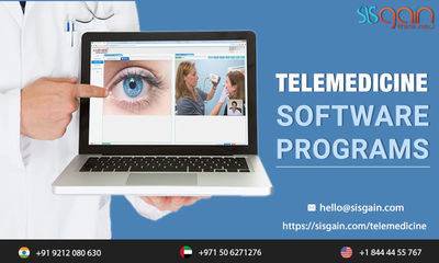 SISGAIN is delivering best mobile apps for telemedicine in United States. We deliver you top cloud based telemedicine software. Our professional telemedicine app developers are dedicated to provide Telemedicine software programs on time. Call us any time ...