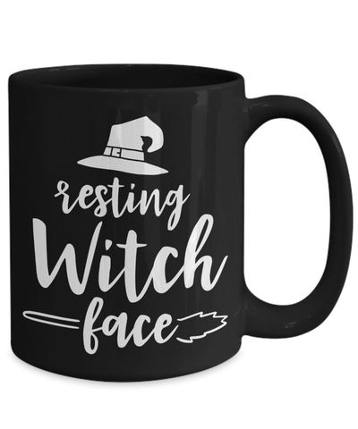 25% off Sale Resting witch face halloween $18.95