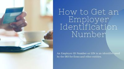 How to Get an Employer Identification Number.  It is Federal Tax Identification Number and is used to identify a business entity. Generally, businesses need an Employer Identification Number (EIN). These Numbers are nine-digit numbers that are f...