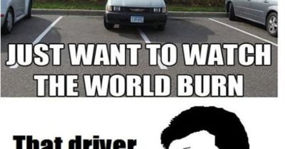 That Driver Was Clearly A Women- Lol Jaja