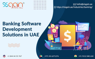Banking Software Development Company in UAE   SISGAIN  Find the best banking software development in UAE from SISGAIN. Our Software solutions are designed to achieve agility, cost leadership, and operational efficiency. A leading company of banking softw...