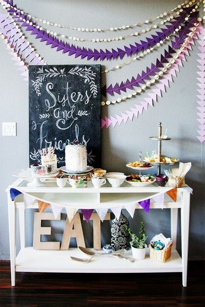 Party Garland Home Decor Papercraft Juxtapost