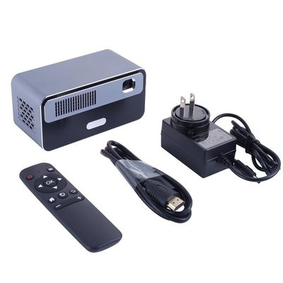 Q5 DLP Interactive Projector 170 ANSI Lumens 300 Inch Support 1080P Wifi bluetooth Android 7.1 1G + 16GB Office Home Theater Projector
