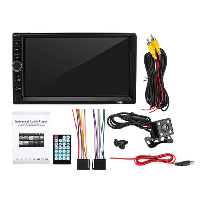 1080P Full Touch Car MP5 Player with Parking Sensor Rearview Camera