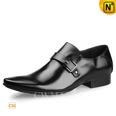CWMALLS® Leather Strap Dress Loafers CW716236