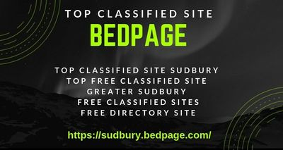 Bedpage is the top free classified site in Sudbury. If you are looking for best classified site in Greater Sudbury then https://sudbury.bedpage.com/ could be the best choice for you. bedpage.com is one of the most popular and top free classified site in G...