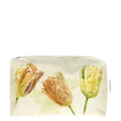 Spring Tulip Buttermilk Medium Toiletry Bag by Designers Guild $30.00