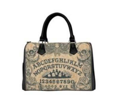 Ouija Board Barrel Style HandBag