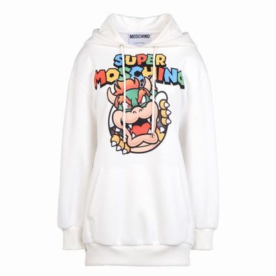 Moschino Super Mario Long Sleeve Sweatshirt White