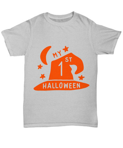 25% off Sale My 1st halloween halloween dark unisex t-shirt $27.95