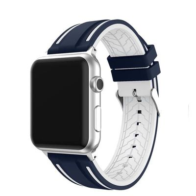Soft Silicone Replacement sport band for apple watch series 4 3 2 1 38mm 40mm 42mm 44mm $31.99