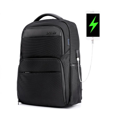 ARCTIC HUNTER B00113C Laptop Backpack Male USB Charge Backpack Laptop Bag Men Casual Travel Nylon Backpacks School Shoulder Bag