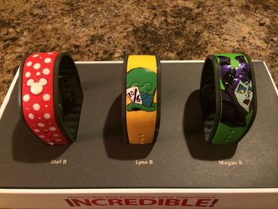 Has anyone decorated their Magic Bands? Please show us the pictures! - Page 26 - The DIS Discussion Forums - DISboards.com