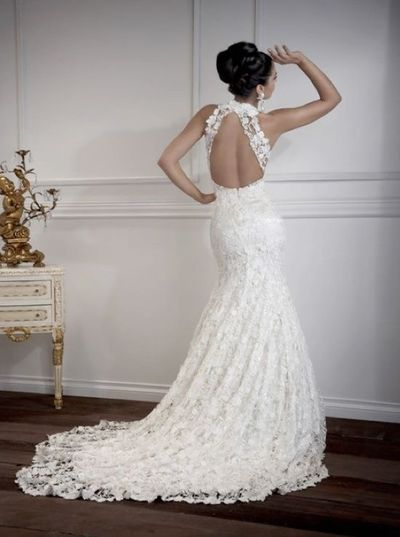 lace open back....love#repost By:Pinterest++ for iPad#