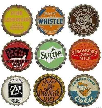 remember we used to collect bottle caps when we went camping?