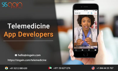 SISGAIN has a team of best telemedicine software developers in USA which are providiing best Telemedicine software programs for different medical organizations. We are constructing best mobile apps for telemedicine in the market. you can call us any time ...