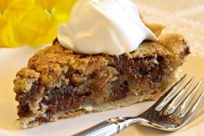 As gooey as a chocolate chip cookie but with the sweet zing of bourbon, not derby pie is the ultimate dessert.
