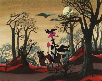 Concept artwork by Mary Blair
