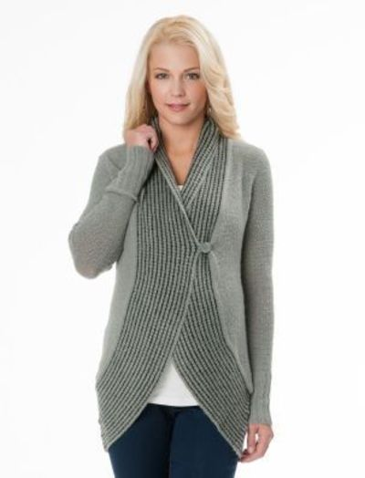 Long Sleeve Tie Detail Maternity Cardigan