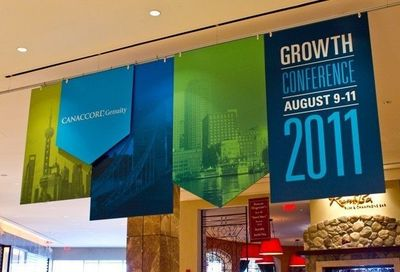 """Canaccord Genuity 2011 Growth Conference �€"""" Hanging Lobby Signage"""