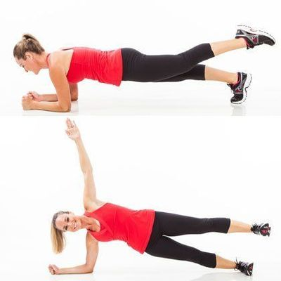Get a flat belly with these abs exercises that only take 5 minutes!