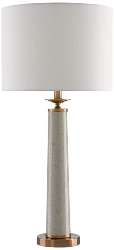 Currey and Company Rhyme Speckled Gray Table Lamp - #9R036 | Lamps Plus
